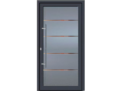 Glastüren mit Aluminiumrahmen bekommen Sie bei Leipfinger.