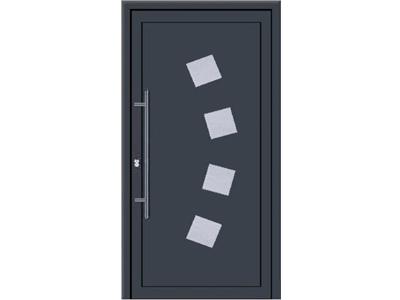Durch das Einsetzen von Glas in Ihre Haustür sind Ihren Gestaltungswünschen keine Grenzen gesetzt.