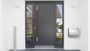 Haustüren aus Aluminium von Leipfinger, Haustüren in Landshut, Erding und München.