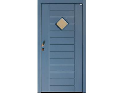Haustüren aus Holz sind variabel im Design.