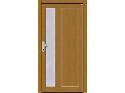 Auch bei Holztüren sind viele Varianten im Design möglich.