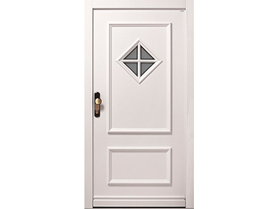 Holzhaustüren gibt es in vielen verschiedenen Farben.